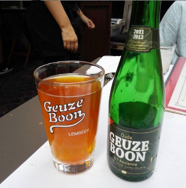 Oude Geuze Boon - Bourla Café Restaurant