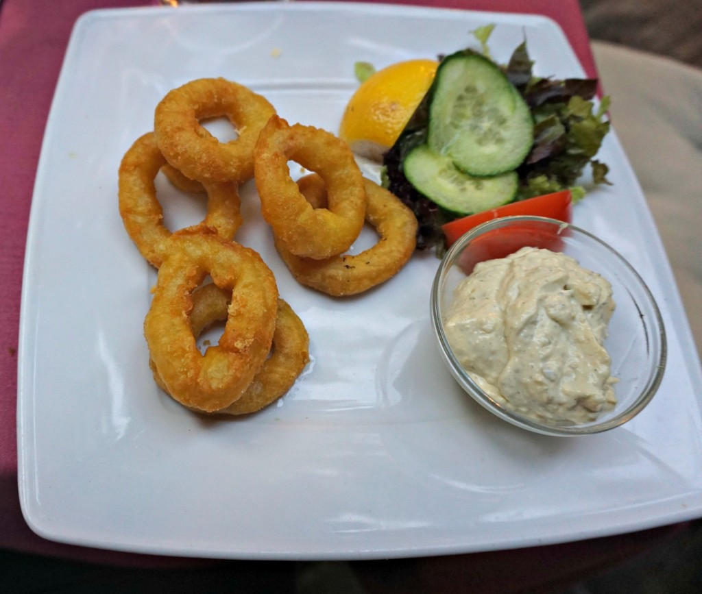 Fried calamari - Chez Clément