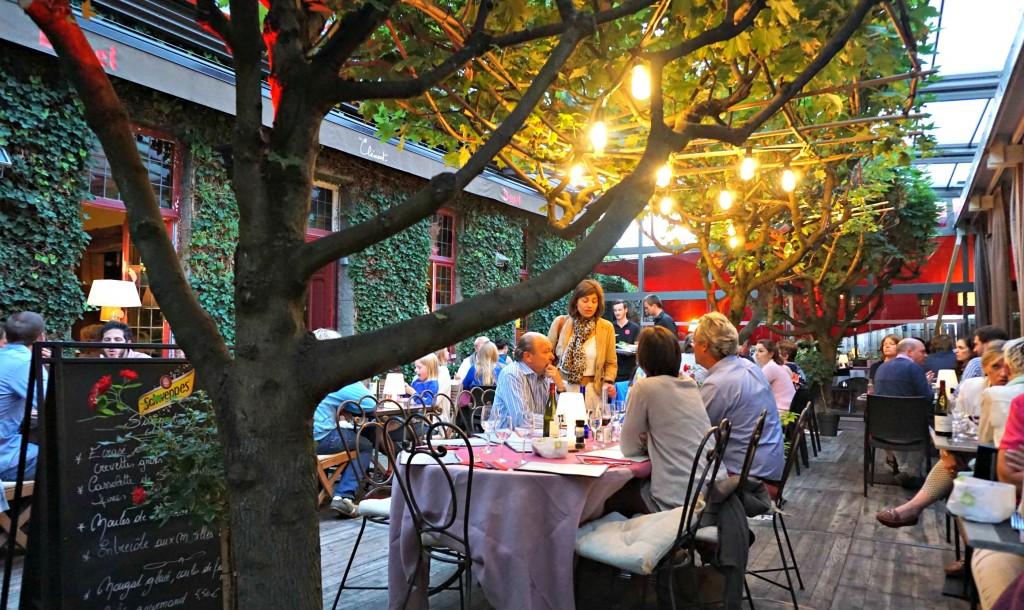 Chez Clément courtyard