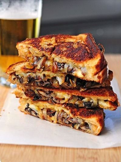 Grilled Cheese with Gouda