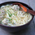 Open Wonton Soup