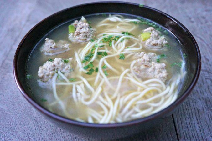 Open Wonton Soup wo spoon