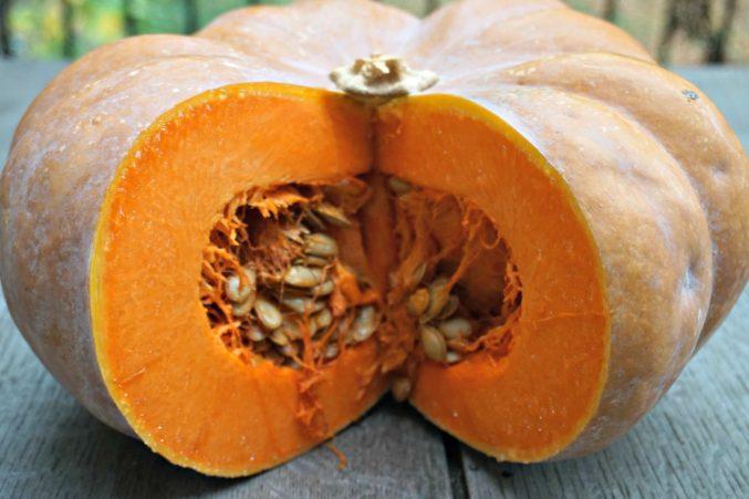Cut Muscat Pumpkin