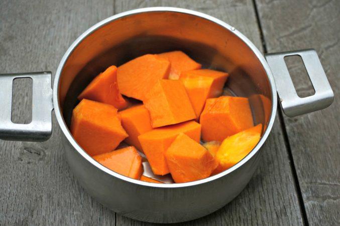 Fresh Cut Pumpkin