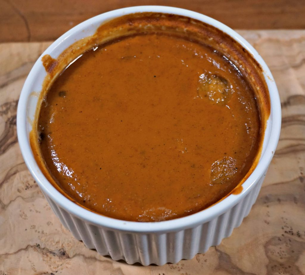 Speculoos Pumpkin Pie Custard from leftover filling