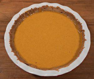 Speculoos Pumpkin Pie prebaked