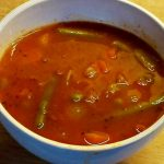 Italian Bean Soup:  Vegan