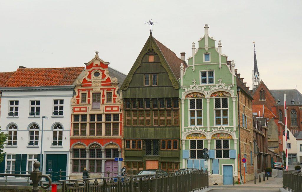 Mechelen Canal Houses