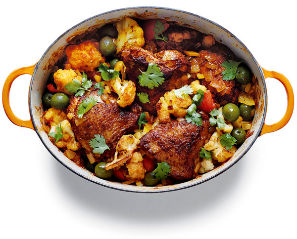 NY Times Chicken Tagine