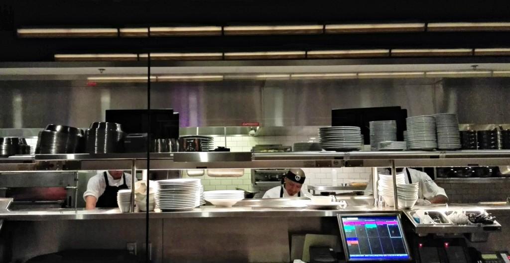 Ocean Prime Open Kitchen