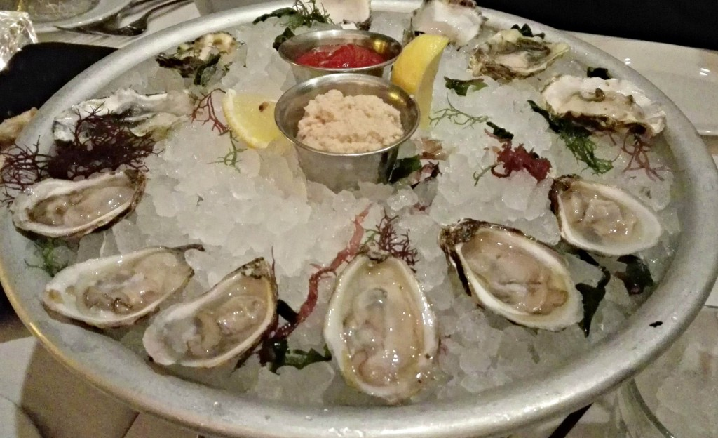 Oysters at Ocean Prime