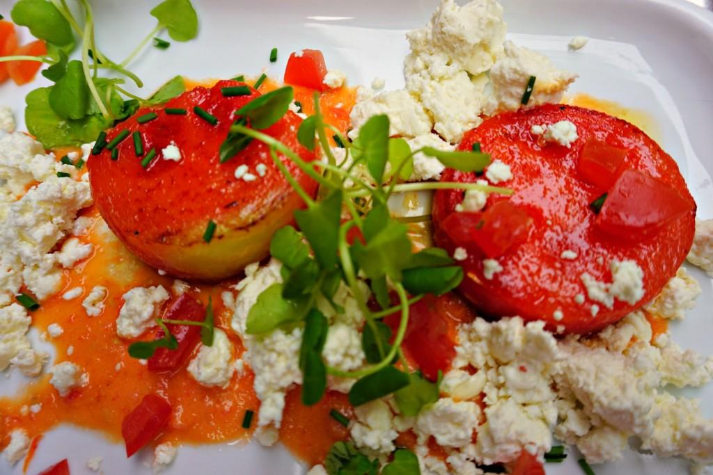 Grilled Watermelon Feta Salad at the Bourla Café Restaurant