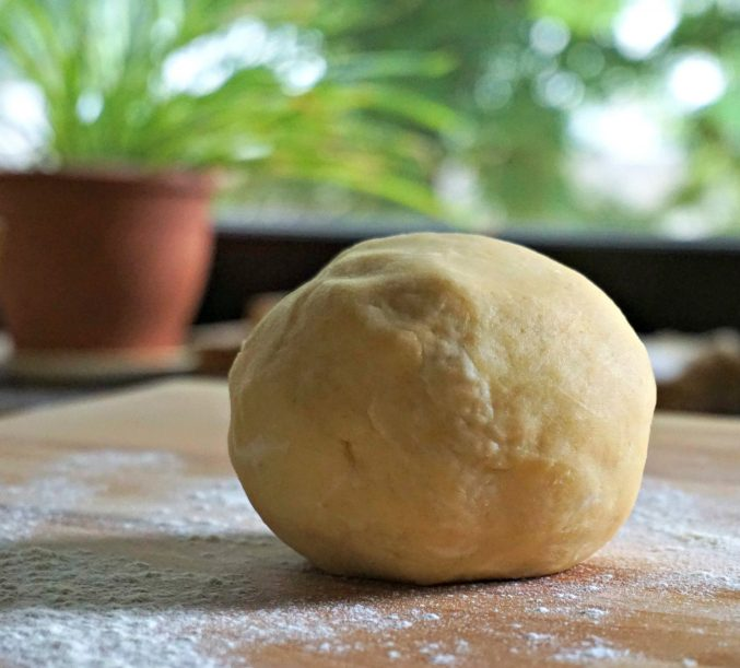 Pastry crust - Ball of dough