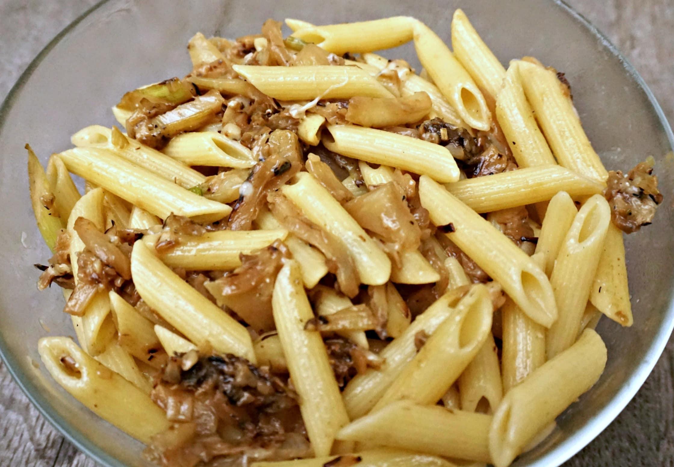 Pasta with Fennel Garlic
