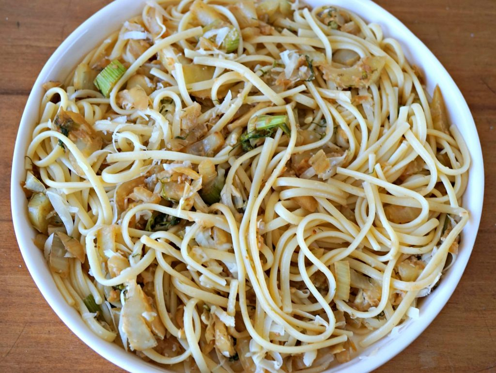 Pasta with Fennel Served