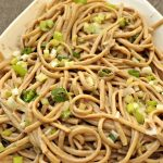 Tasty and Healthy Sesame Noodles