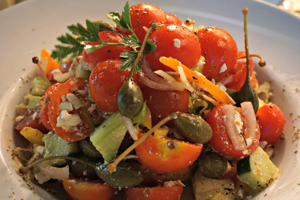 Musutu Greek Salad