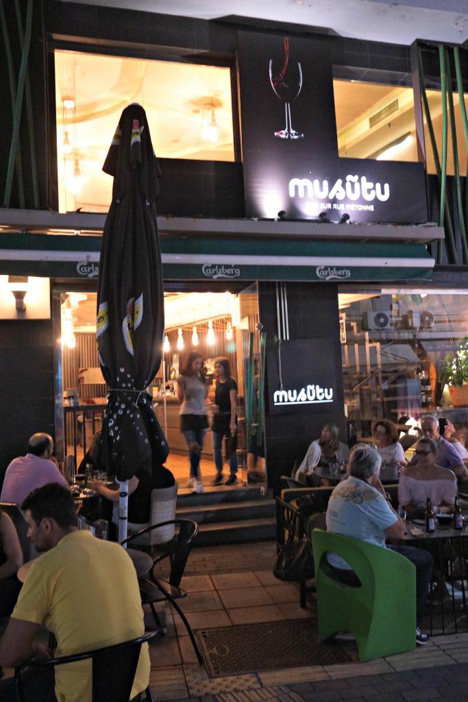 Musutu at night