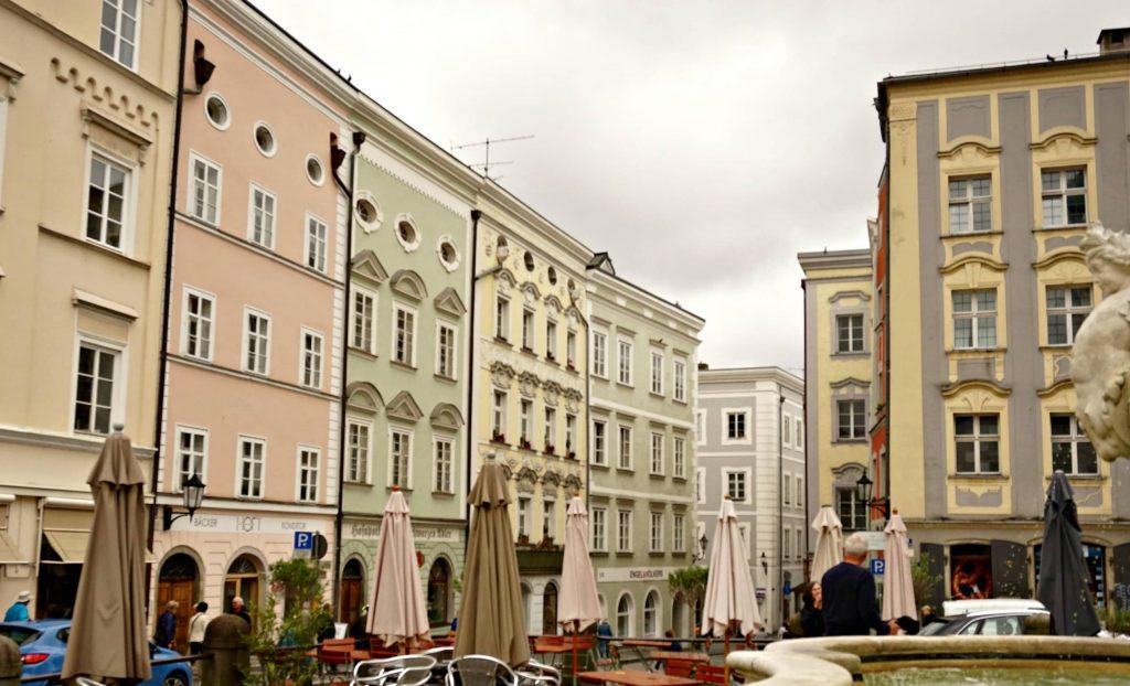 Passau square Central Europe
