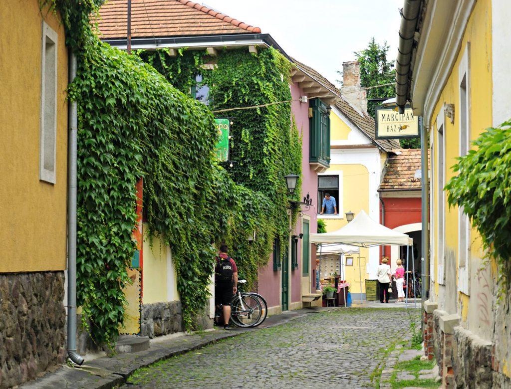 Szentendre pastels Central Europe