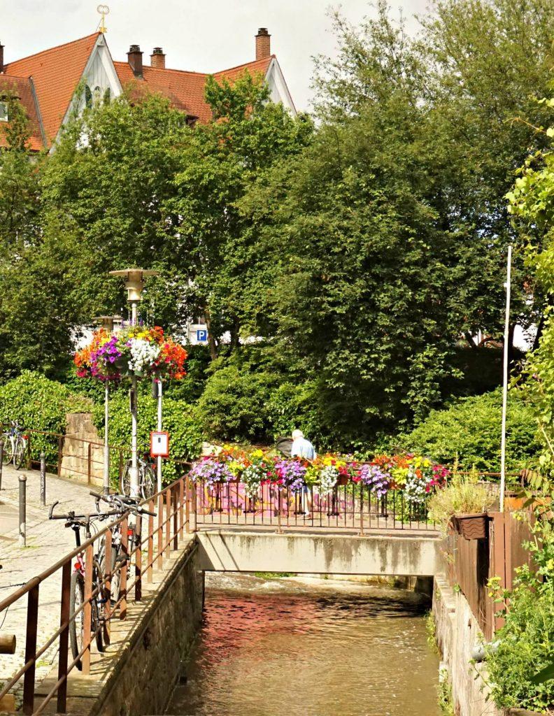 Tubingen Ammer River Central Europe
