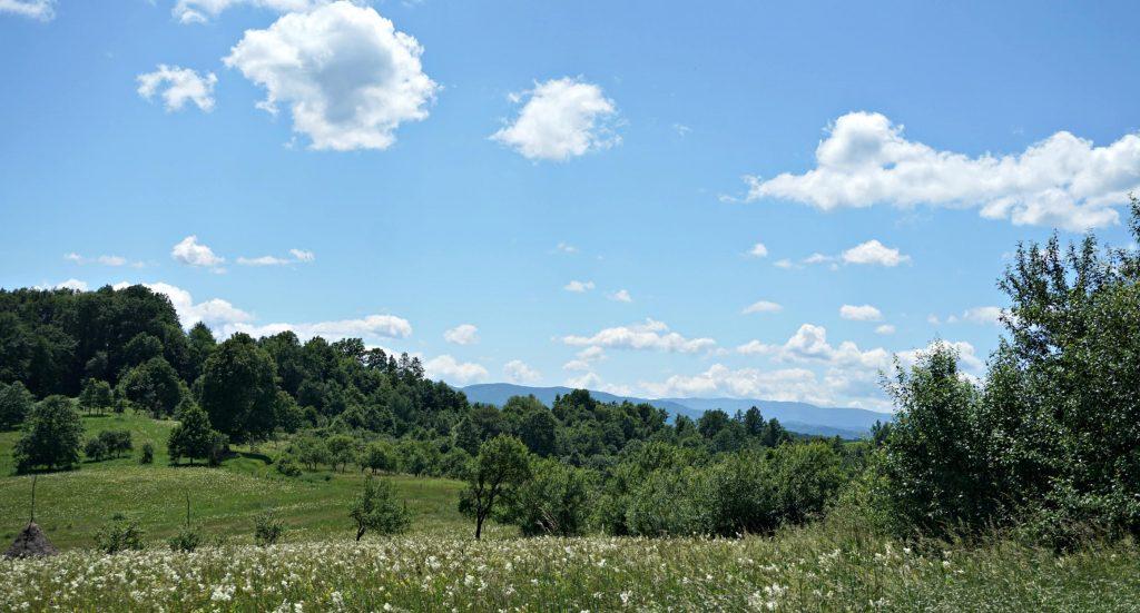 Transylvanian mountains Central Europe