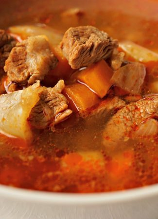 Hungarian Goulash Soup Made At Home Belgian Foodie