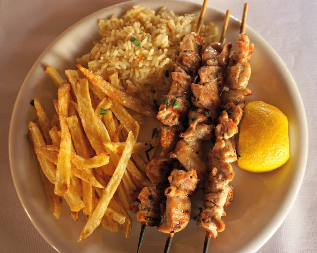 Amaltheia Souvlaki - eating out