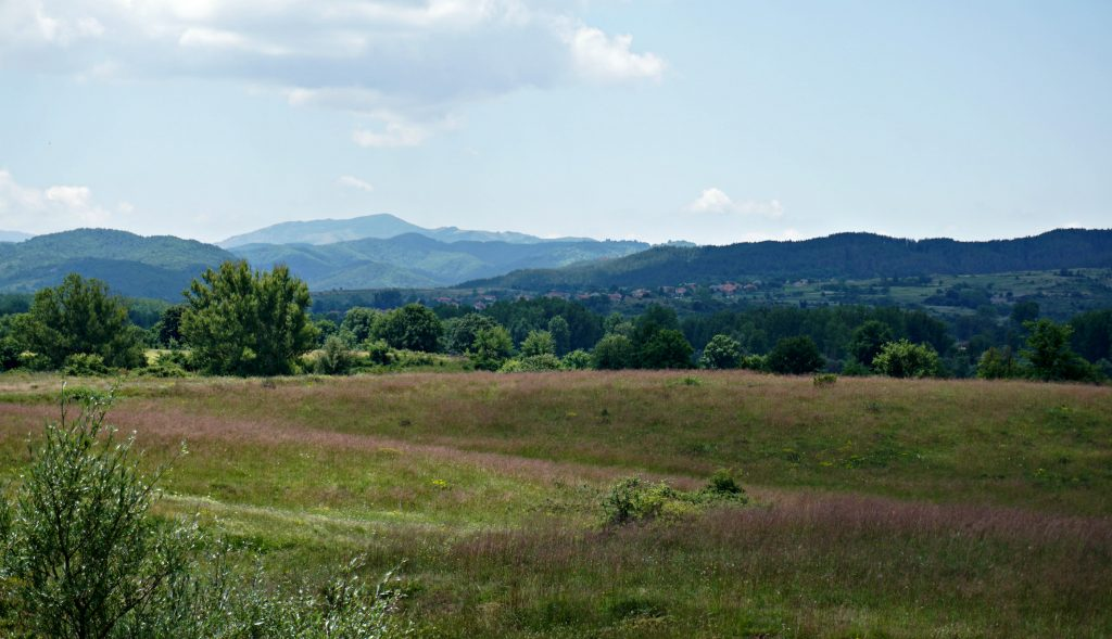 Countryside near Bulgarian border