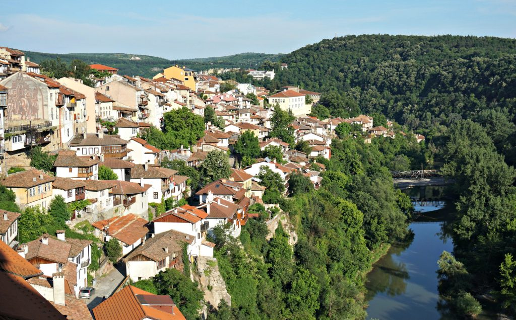 View of Veliko Tarnovo