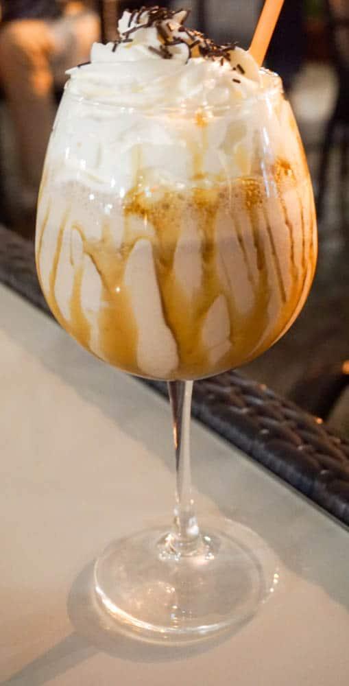 Espresso frappe