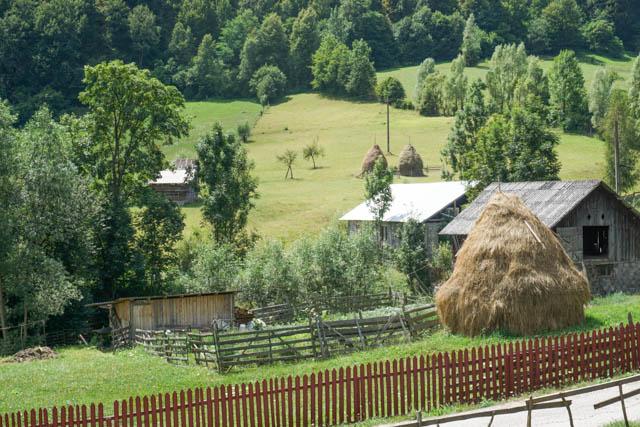 Haystack Countryside Romania