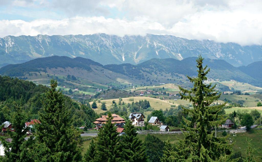 Transylvanian countryside view - Romania