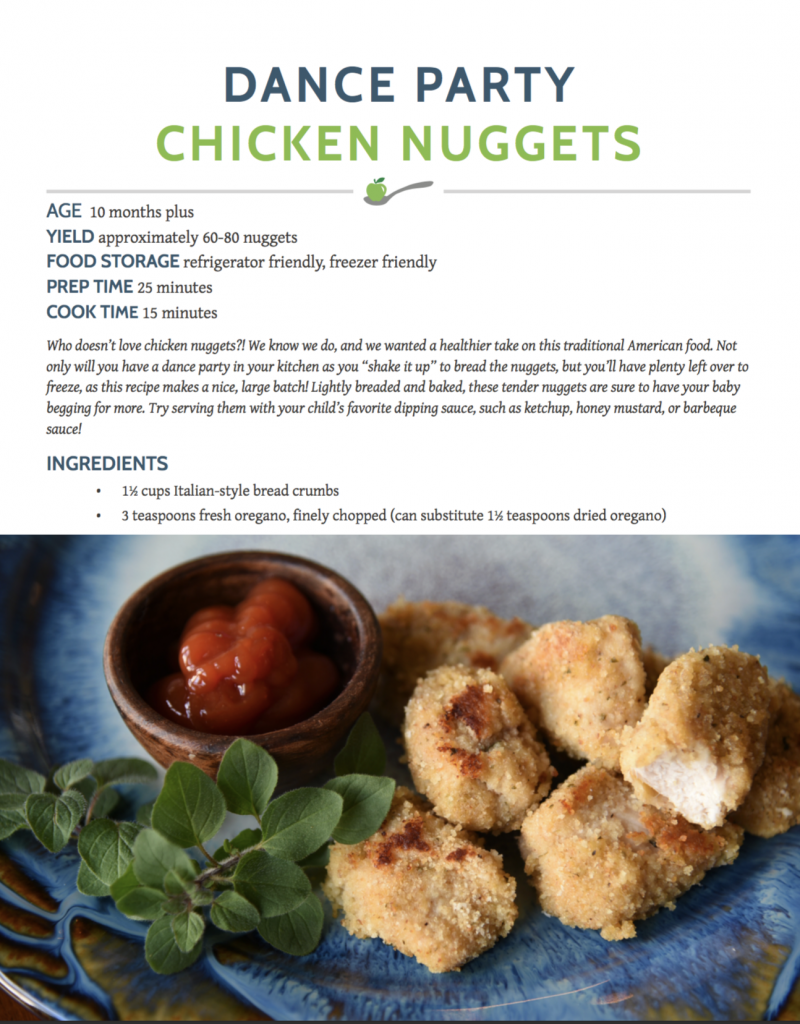 Chicken Nugget Recipe babies and toddlers
