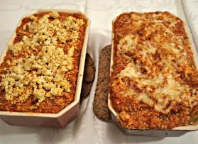 Vegan Eggplant Lasagna without Pasta