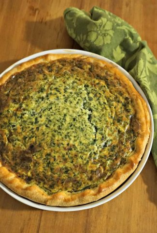 An Easy Quiche Recipe Made Simple Belgian Foodie