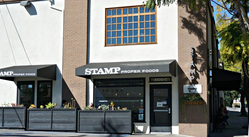 Stamp Proper Foods outside