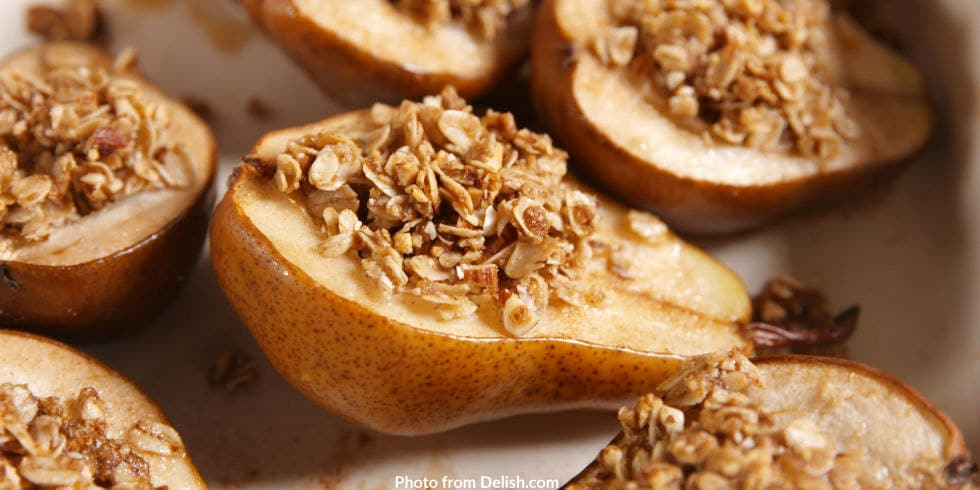 Cinnamon-baked Pears from Delish.com