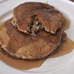 Healthy Tofu Vegan Pancakes for Breakfast