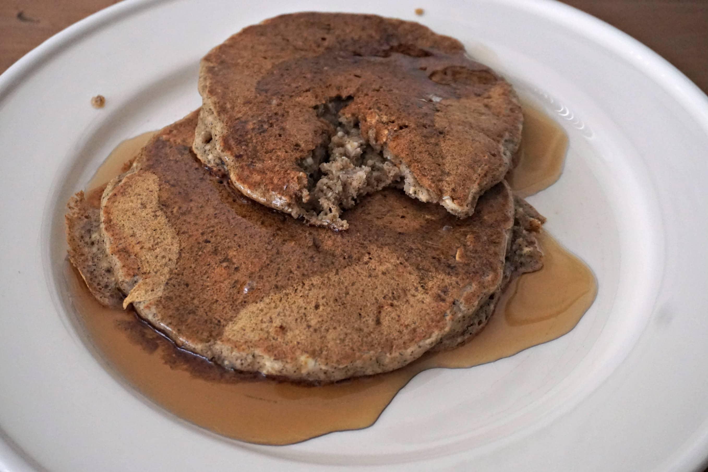 Tofu Vegan Pancakes Eaten