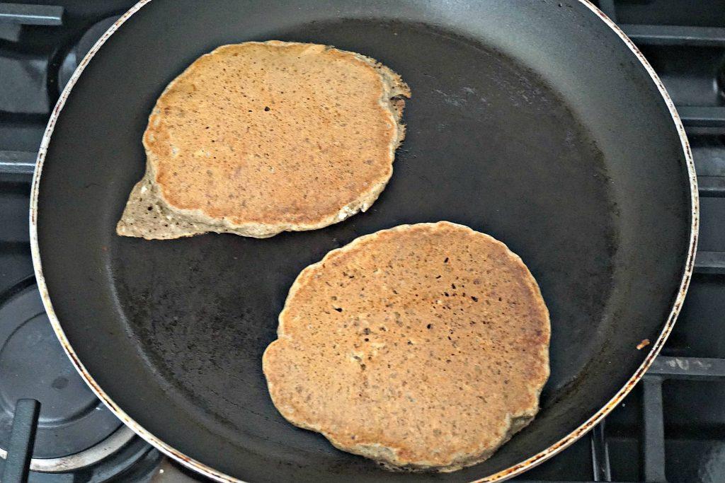 Tofu Vegan Pancakes Pan