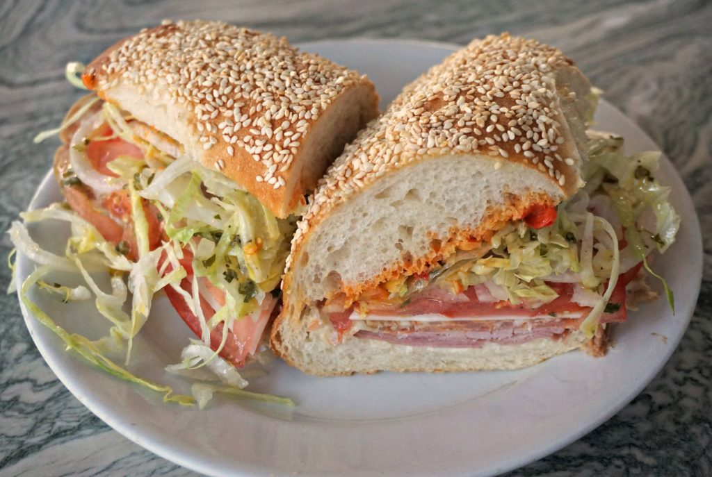 Restaurants in Los Angeles - Gwen Grinder sandwich