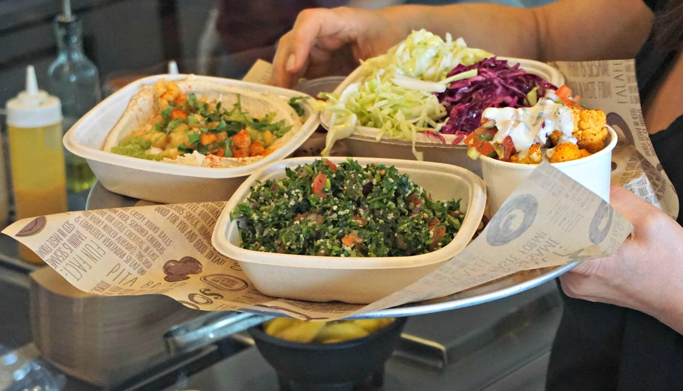 Soom Soom food tray upclose