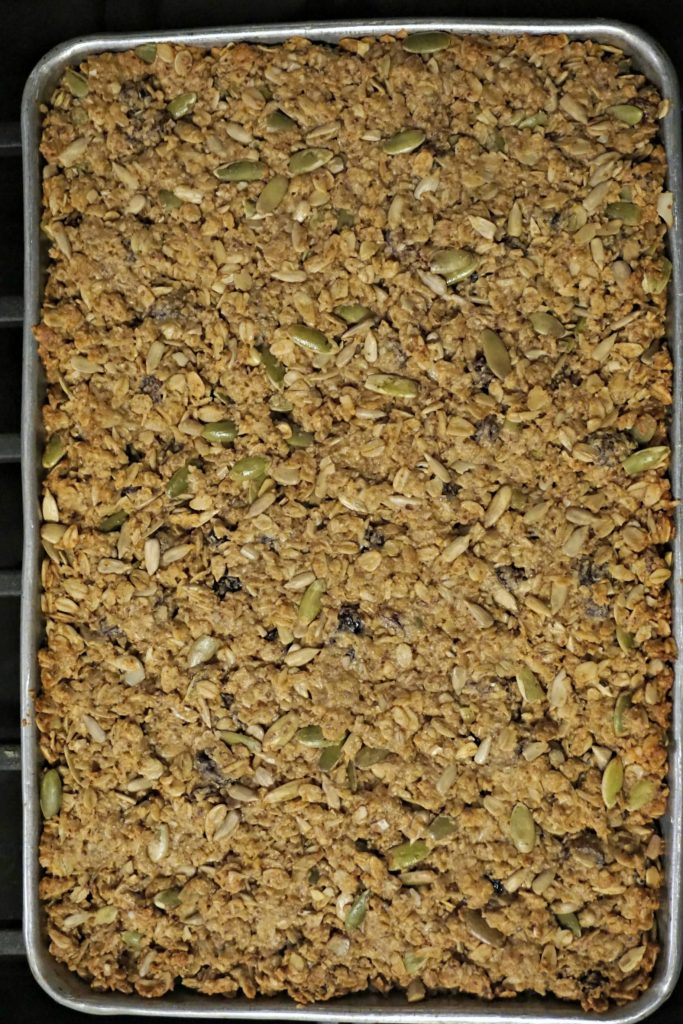Granola Bar tray