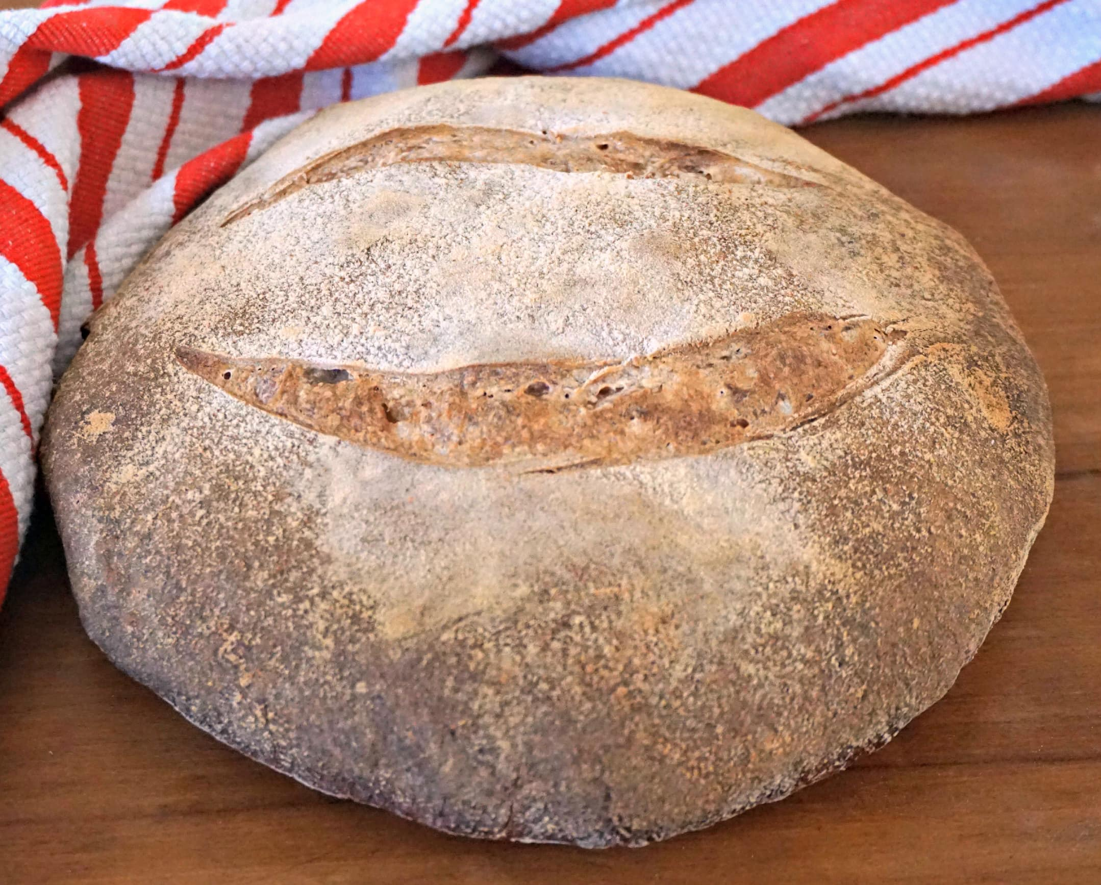 Smiling Sourdough Bread