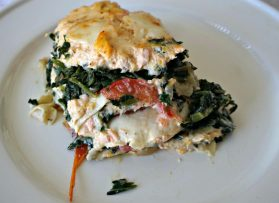 Salmon Lasagna With A Butternut Squash Option