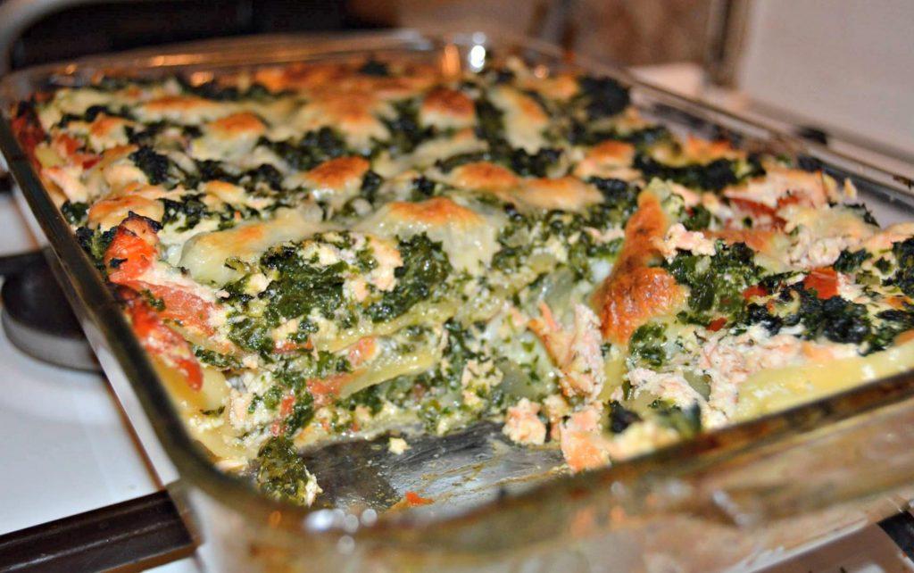 Salmon Lasagna 2015