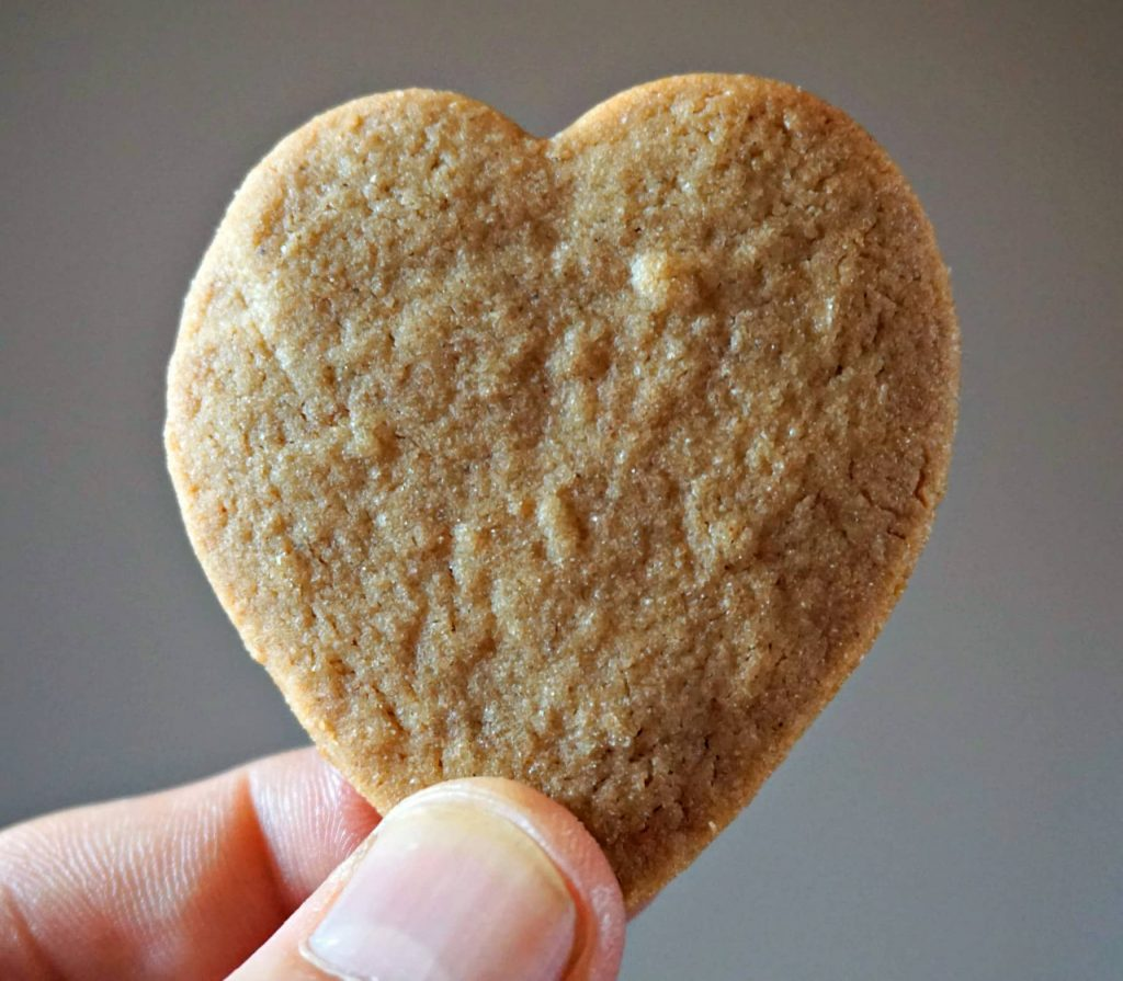 Heart Speculoos cookie