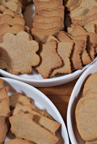Speculoos Cookies trays