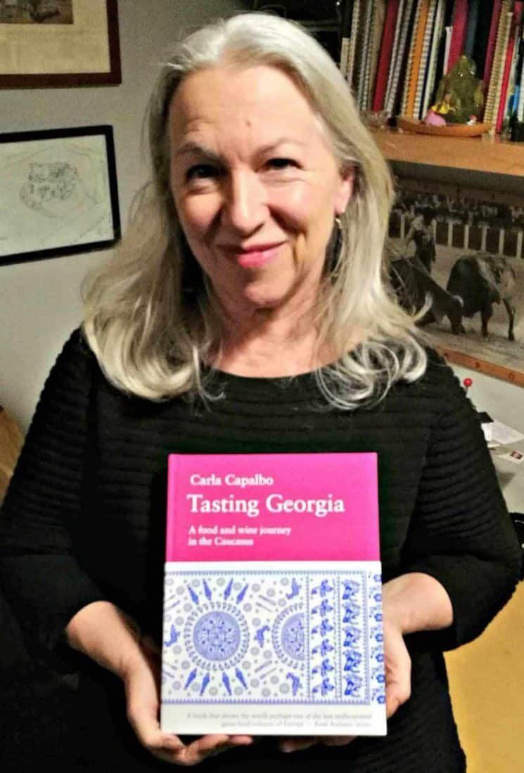 Carla Capalbo - cookbook Tasting Georgia